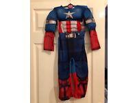 Captain America costume 3-4 years