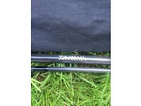 Daiwa phantom carp rod 12ft 3lb test curve in sleeve