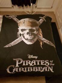 Pirates of the caribbean duvet