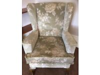 Hi Back Wing Chair
