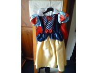 Book Day Snow White Fancy Dress to fit 3-4 yrs. VGC