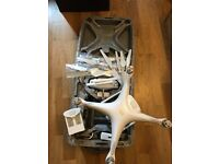 Dji phantom 4 drone camera dji with dji bag and extra battery excellent condition