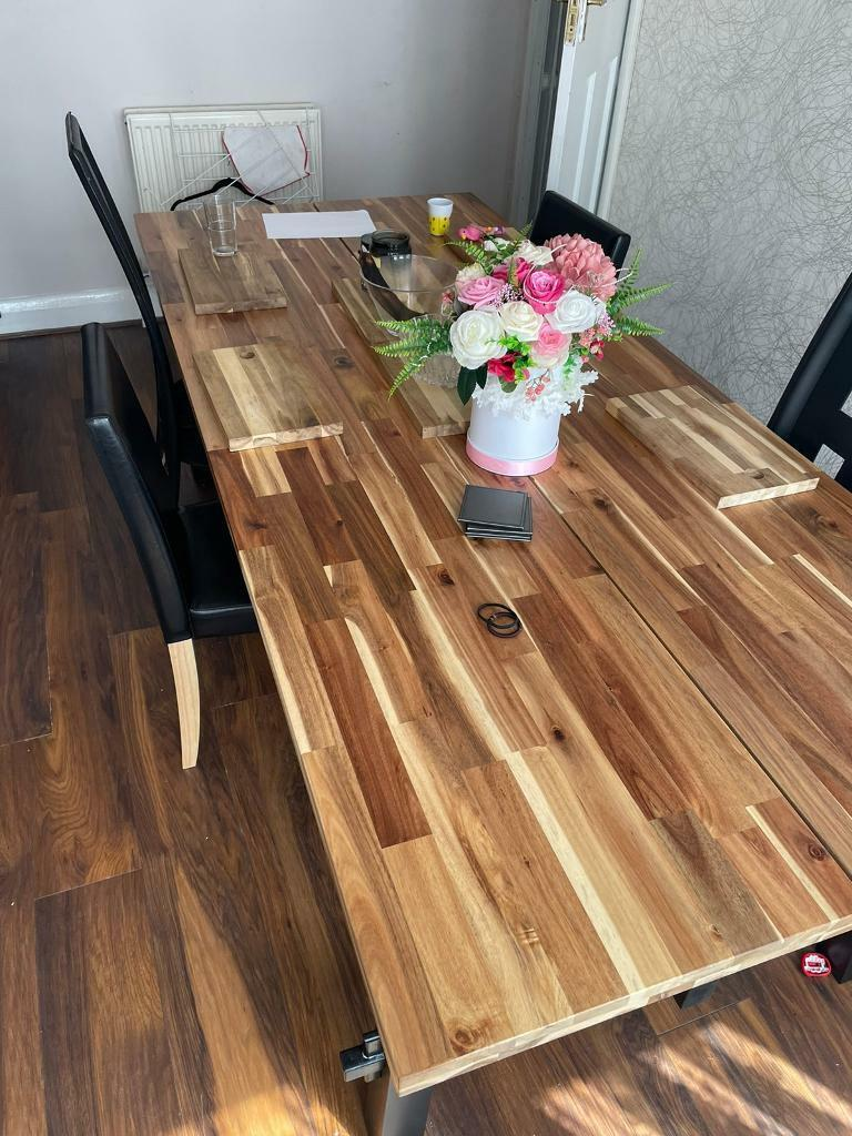 Large dining table for sale   in Chatham, Kent   Gumtree