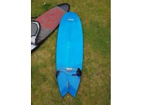 7S Superfish Surfboard - 6 ft 8 - Good Condition - Blue