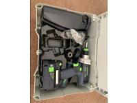 Festool Cordless Hammer Drill 18/4 Li 5,2