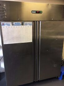 Polar Double Door Fridge