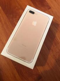 iPhone 7 plus 256gb unlocked brand new sealed