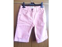 M&S Indigo Girl's 3/4 Length Shorts
