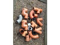 Waste pipe fittings 110mm