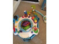 Tiny Love Gymini Kick&Play, soothe n groove mobile and baby Einstein Rhythm n Reef Activity Saucer