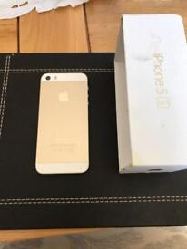 iPhone 5s gold 16GB - 3 network