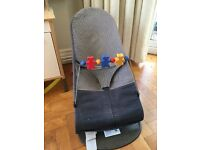 Baby bjorn bouncer chair with toy bar