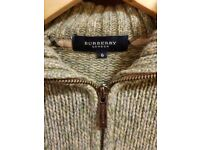 Genuine BURBERRY LONDON Cardigan Size 6
