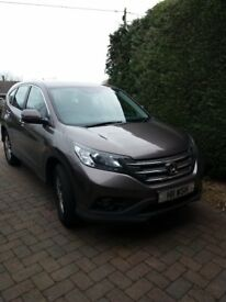Honda CRV excellent condition only 17000 miles from new