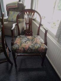 set of 8 Gillow mahogany diningchairs