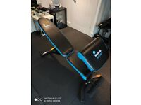 Weight bench with preacher pad men's health