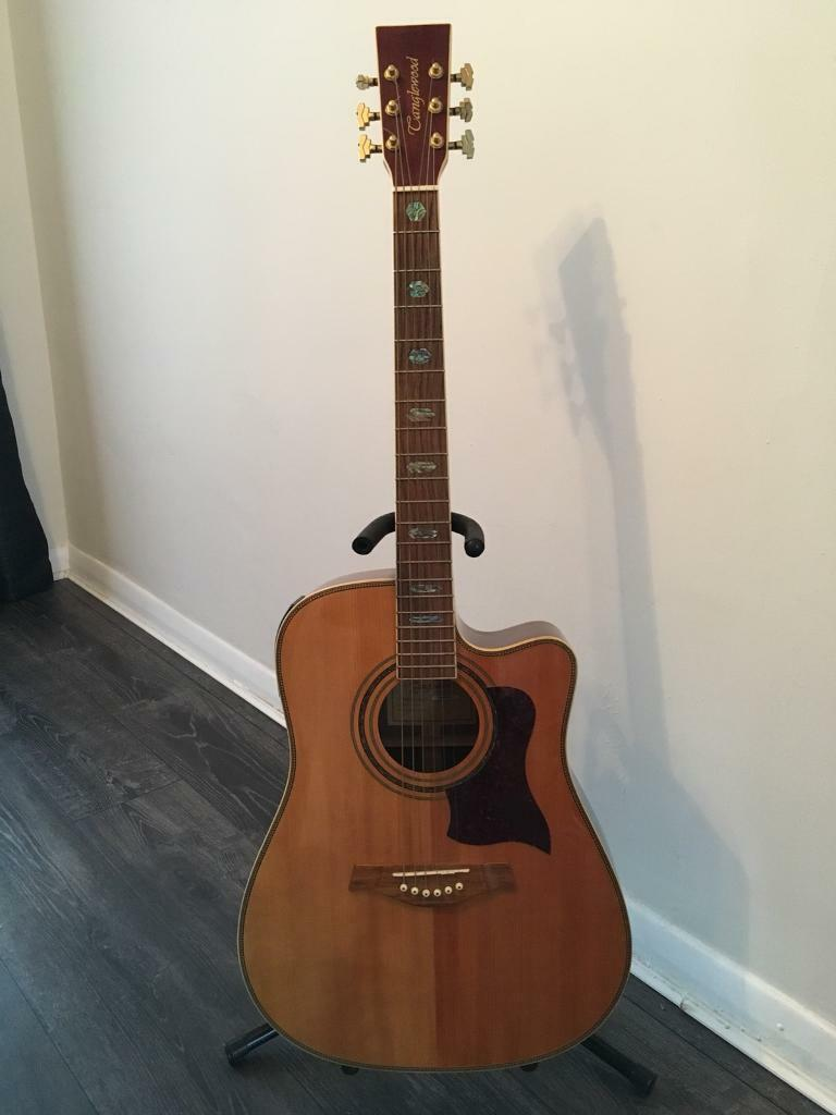 Tanglewood acoustic / electro guitar