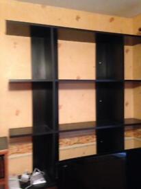 Wall unit/ shelves