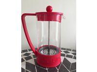 Red bodrum caffettiera