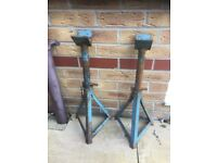 Axle stands high lift and strong construction £10.