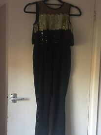 Sparkly dress and jumpsuit