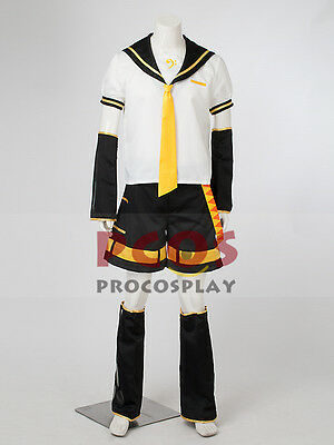 Best Vocaloid Kagamine Len Cosplay Costume Outfits mp000480