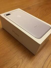 As new iPhone 7 Plus 32gb boxed with all leads factory unlocked
