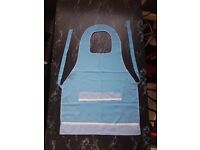 Ladies Blue cute Apron