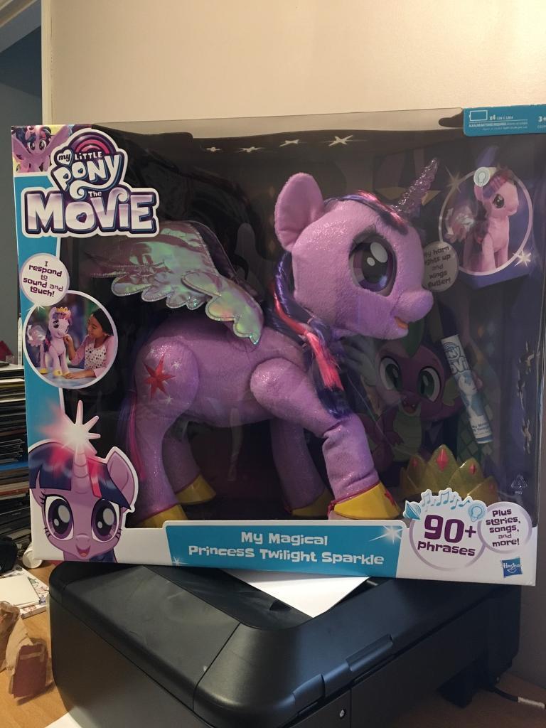 Brand New In Box Interactive Twilight Sparkle Pony