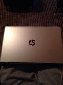 HP lapton i5 silver