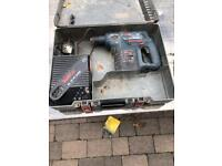 Bosch GBH 24 VRE Cordless Rotary Sds Hammer Drill