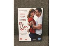 P.S I Love You DVD Movie film with Hilary Swank Gerard Butler ROM COM SDHC