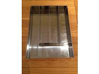 John Lewis Stainless Steel Cutlery (Drawer) Tray
