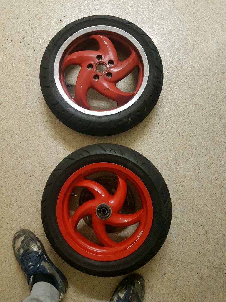 gilera disc wheel set