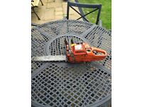 Job lot 4 chainsaws and 1 hedgecutter