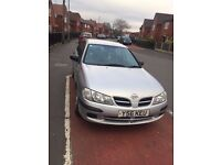 Nissan Almera 2001 1.5 5 Door Hatchback Silver for sale