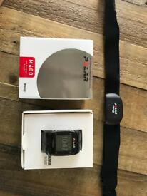 Polar M400 GPS Watch with Heart Rate Monitor, Black, one size