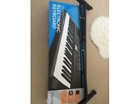Casio keyboard with stand