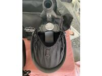 Air fed filtered welding mask