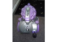 Dyson DC08 bagless cyclone cylinder vacuum cleaner,grey and purple,unit only