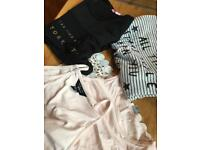 Selection of new look and Zara tshirts