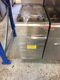 Elite Single Tank Twin Basket Natural Gas Fryer