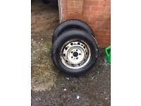 Peugeot boxer/Citroen relay/Fiat ducato wheels and tyres