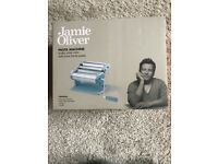 RRP £50 Boxed Unused Jamie Oliver Pasta Maker Pale / Light / Retro new Blue