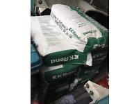 11x 20kg bags of K Rend