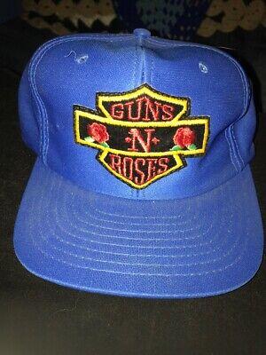 Guns N Roses Hat Baseball Cap Blue Snapback One Size
