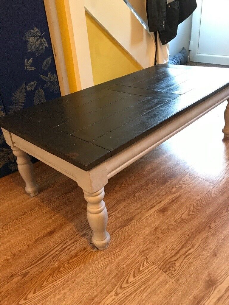 Up cycled Wooden pine large coffee table | in Aberdare, Rhondda Cynon Taf | Gumtree