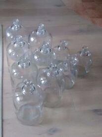 Reclaimed Glass Jars