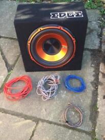 Edge Sub & Amp For Sale