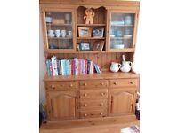 Triple pine dresser